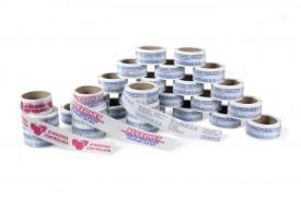 cintas adhesivas impresas